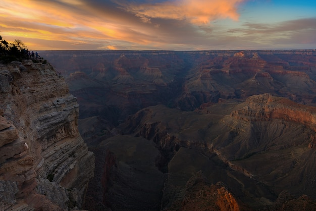 South rim, parc national du grand canyon, etats-unis
