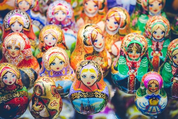 Souvenir de la russie traditionnelle