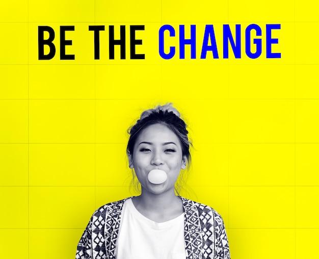 Soyez l'icône de la stratégie de changement