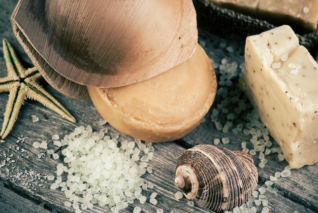 Spa au sel et savon bio