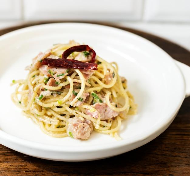 Spaghetti cuisine italienne