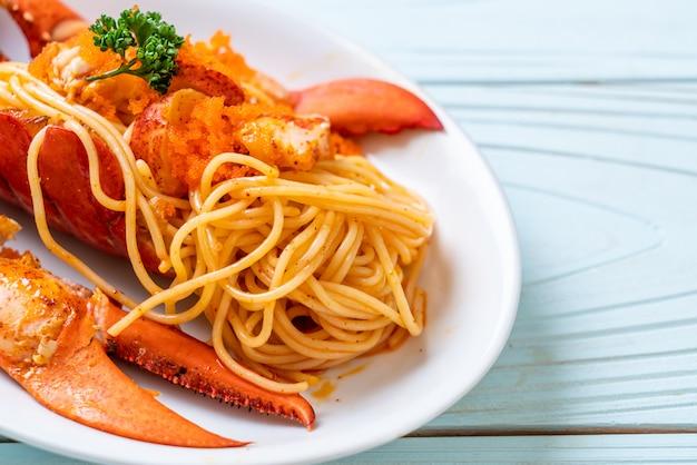 Spaghetti de homard aux œufs de crevettes