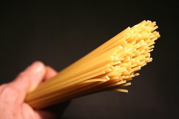 Spaghettis crus