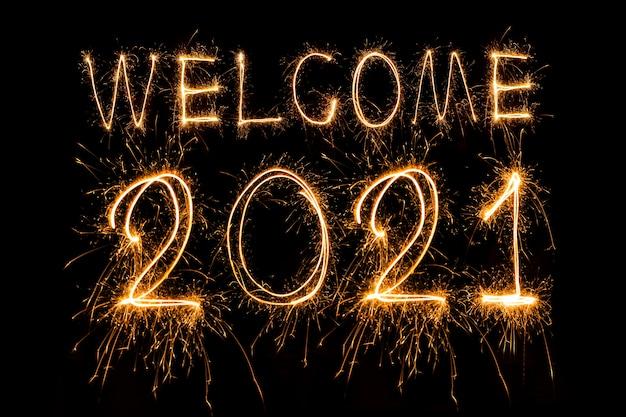Sparkling 2021 nouvel an