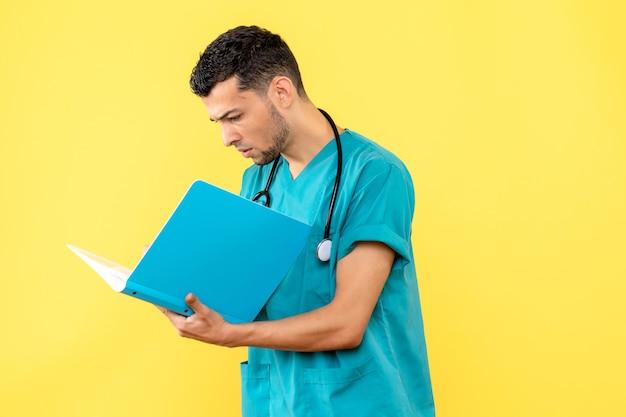 Spécialiste de la vue latérale, le médecin sait comment traiter un patient avec covid-