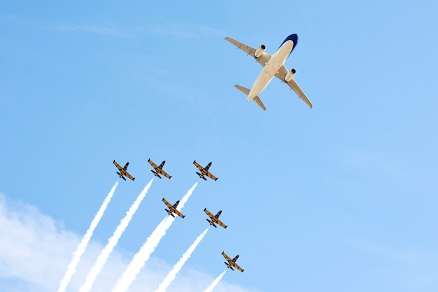 Spectacle d'avion
