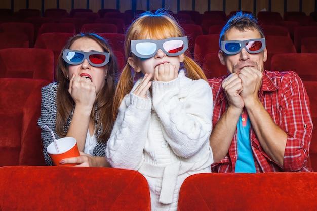 Les spectateurs au cinéma