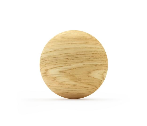 Sphère ou boule en bois