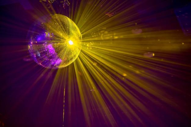 Sphère boule disco scintillante