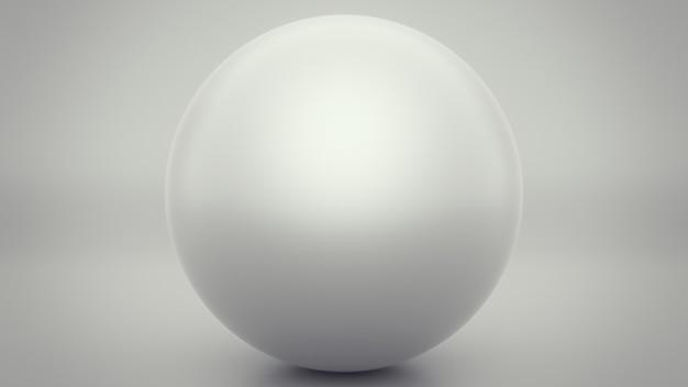 Sphère grise au design moderne