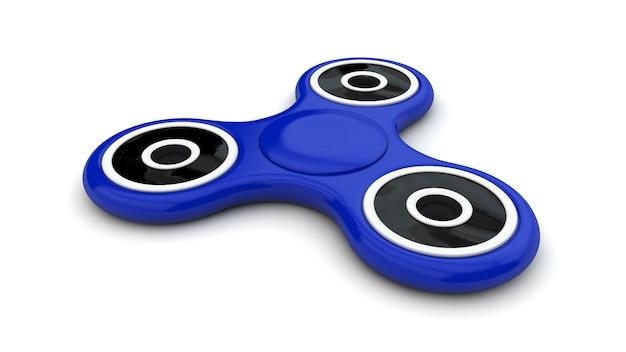 Spinner bleu