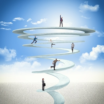 Spirale des affaires