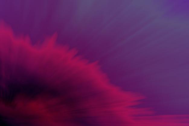 Splash abstrait de couleur.