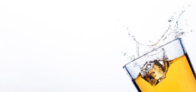 Splash de whisky de glaçons