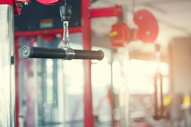 Sport et concept de fond sain. la musculation.
