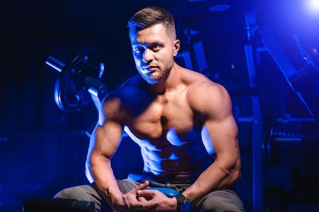 Sport, fitness, haltérophilie, musculation