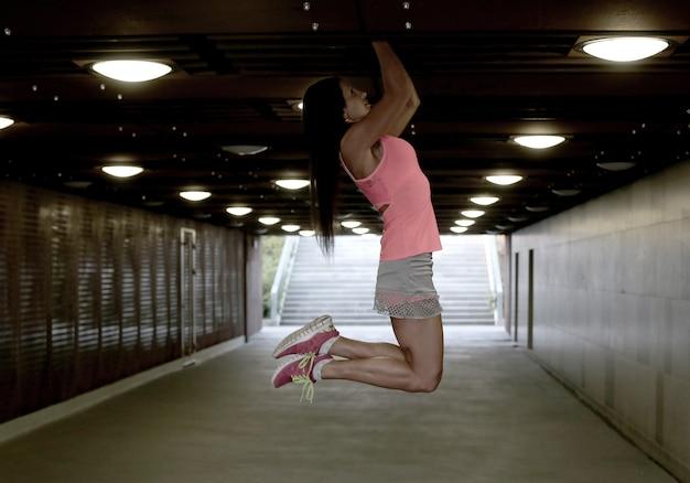 Sport en plein air, femme