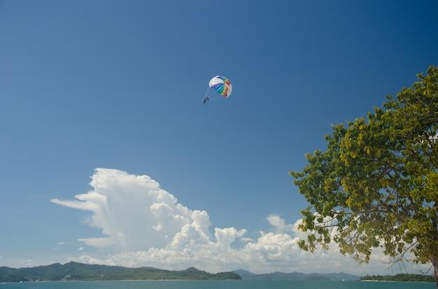 Sports de parachute ascensionnel