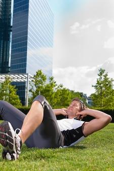 Sports urbains - fitness dans la ville