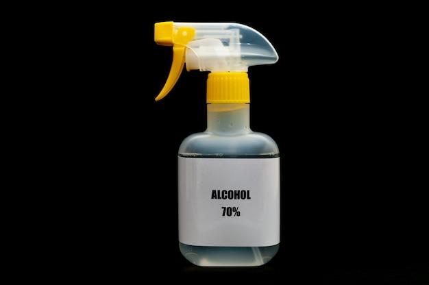 Spray d'alcool 70 pour la protection contre le coronavirus covid19 et d'autres maladies infectieuses