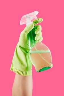 Spray détergent de nettoyage