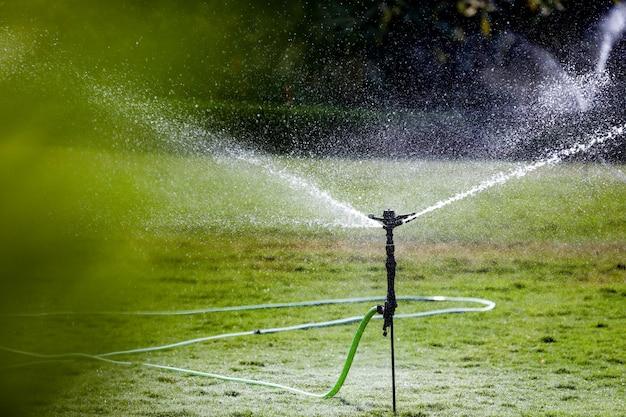 Sprinkler dans la ferme