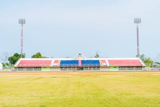 Stade de football vide