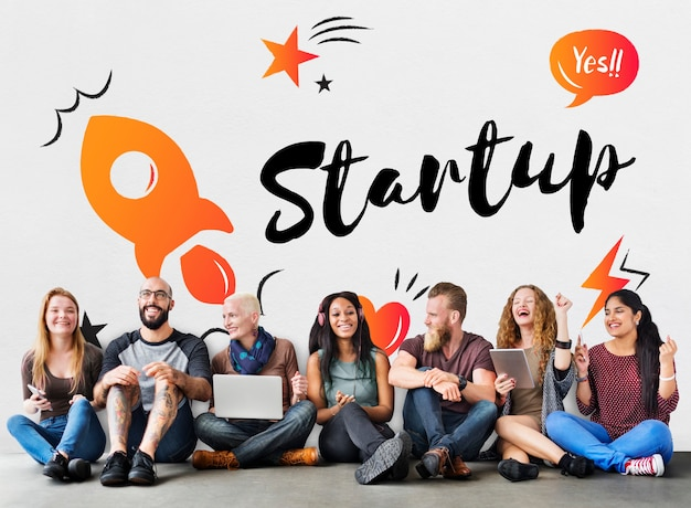Startup business progress stratégie entreprise