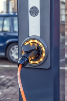 Station de recharge électromobile