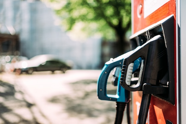 Station de recharge pour voitures électriques.