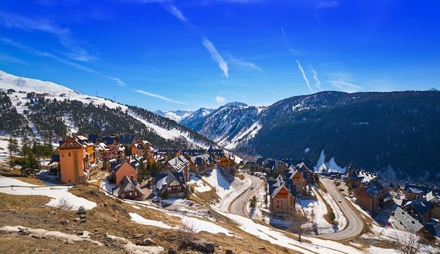 Station de ski dans le val d'aran
