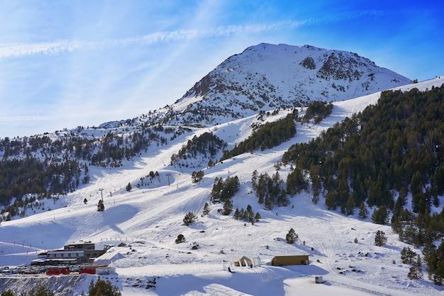 Station de ski grau roig à andorra grandvalira