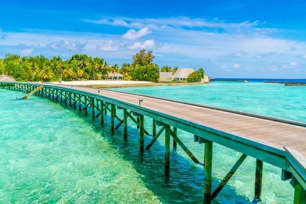 Station de voyage tropicale repos parfait