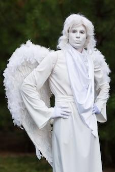 Statue d'ange vivre.
