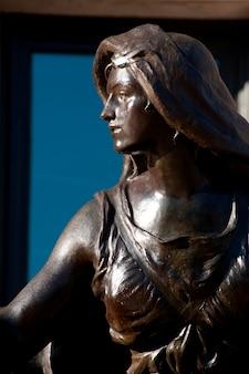 Statue à boston, massachusetts, états-unis