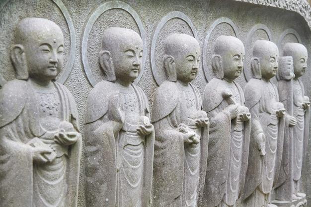 Statue de bouddha jizo