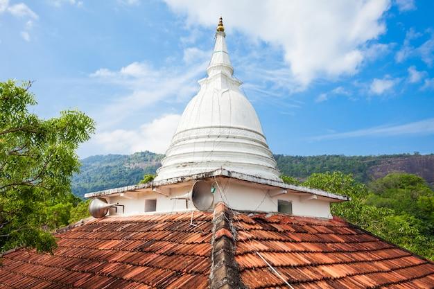 Statue de bouddha rambadagalla samadhi