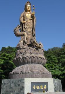 Statue de bronze taiwanais