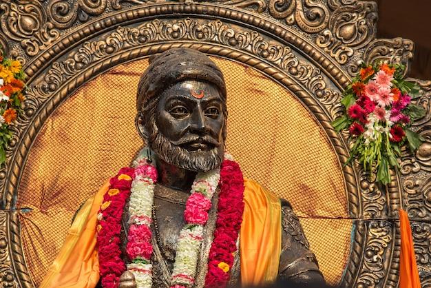 Statue de chatrapati shivaji maharaj