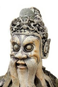 Statue dans le temple wat pho à bangkok