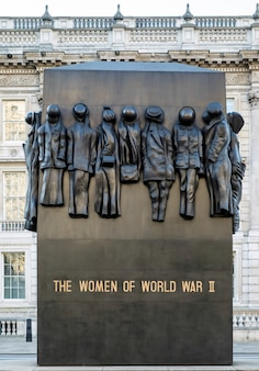 La statue des femmes de la seconde guerre mondiale à whitehall