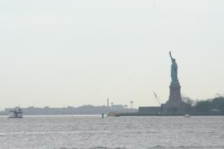 Statue de la liberté d'hudson