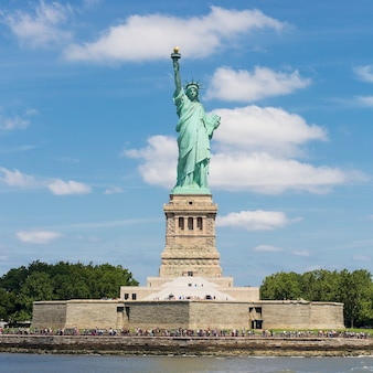 Statue de la liberté, liberty island, new york.
