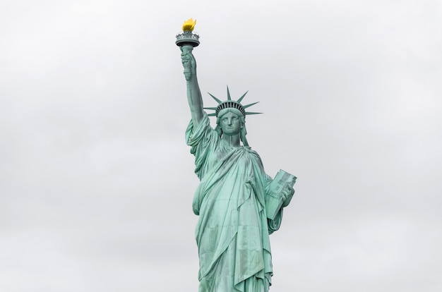 Statue de la liberté, new york city, etats-unis