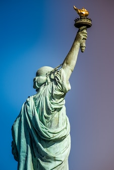 Statue de la liberté à new york, usa