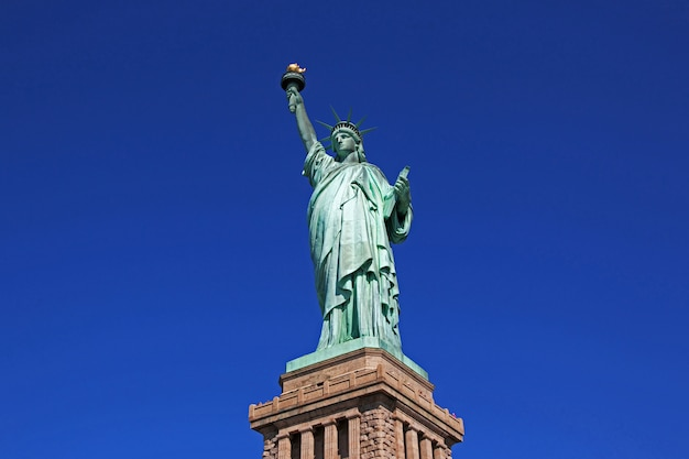 Statue de la liberté à new york, usa
