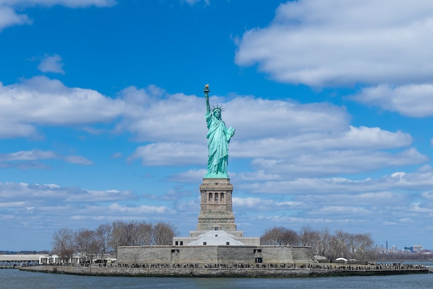 La statue de la liberté, new york, usa