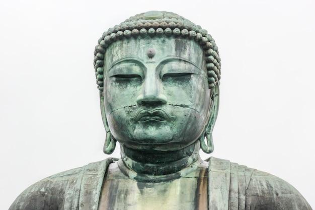 Statue monumentale en bronze du bouddha amitabha.