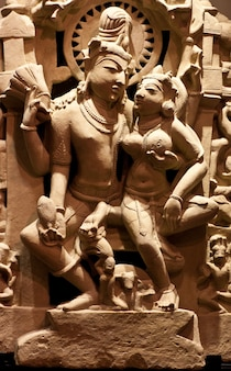 Statue de saint couple, sud-est de l'asie