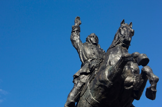 Statue de simon bolivar